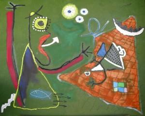 Sueño del pescador (100x80cm) óleo sobre lienzo-1