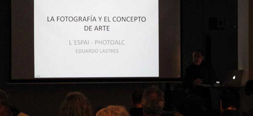 2. La Fotografía y el concepto del arte (conferencia de Eduardo Lastres ayer, 28-3-2014, en L´Espai