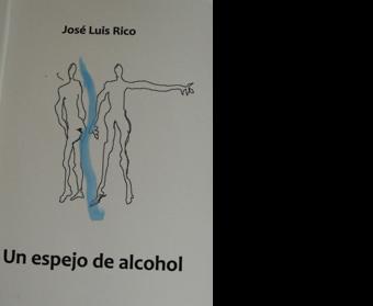 Un espejo de alcohol
