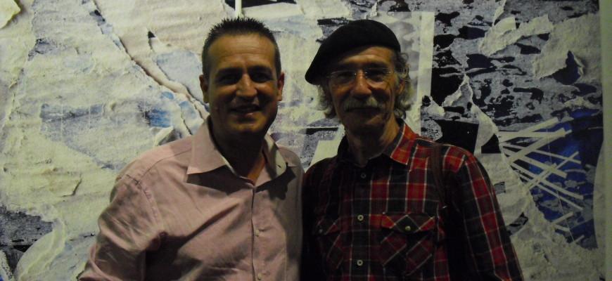 Con Carlos Balsalobre