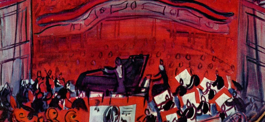 DUFY-Red Concert