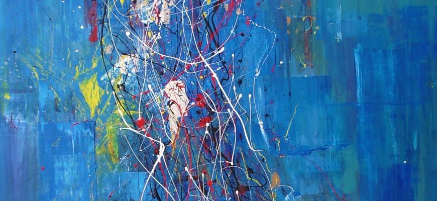 Capricho (80x100cms) Acrílico y pintura plástica sobre tablero DM