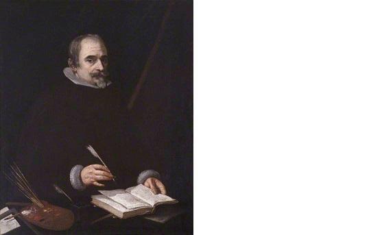 Self portrait *oil on canvas, *91.9 x 85 cm *circa 1633/1638