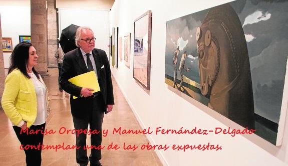 Murcia 12/05/2016. Exposicion colectiva Himalaya, Palacio almudi.