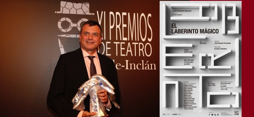 Sergio Gonzalez Valero. 27/03/2017. Madrid. Madrid. XI Premio Valle-Inclan. Ernesto Caballero