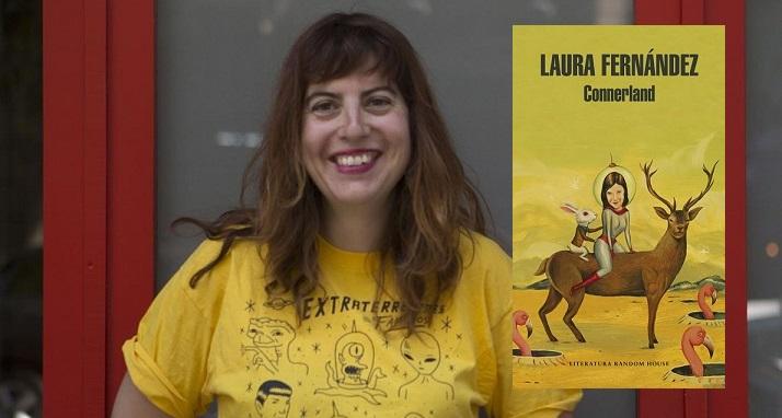 Barcelona 31 05 2017 La escritora Laura Fernandez publica Connerland Fotografia Albert Bertran