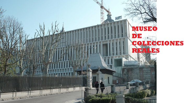 Museum of Royal Collections in Madrid (Spain) under construction.