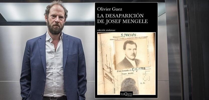 BARCELONA  15 05 2018 El escritor Olivier Guez  autor de la novela La desaparicion de Mengele  que investiga el periplo de huida y la vida del buscado medico y criminal nazi  el Angel de la muerte de Auschwitz  FOTO FERRAN SENDRA