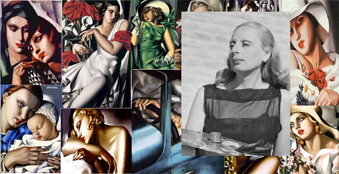 lempicka art collage