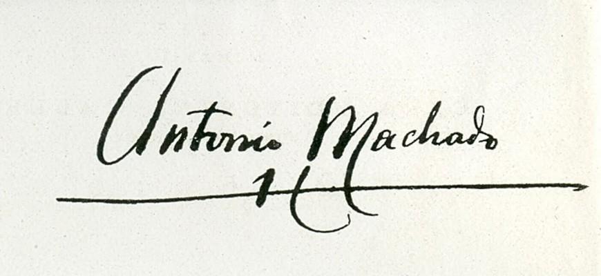 La firma de Machad
