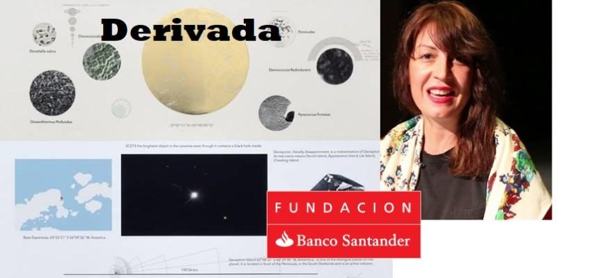 11/12/2018 Regina de Miguel protagoniza 'Derivada', el proyecto de Fundación Banco Santander dedicado a la obra gráfica CULTURA SOCIEDAD FUNDACIÓN BANCO SANTANDER