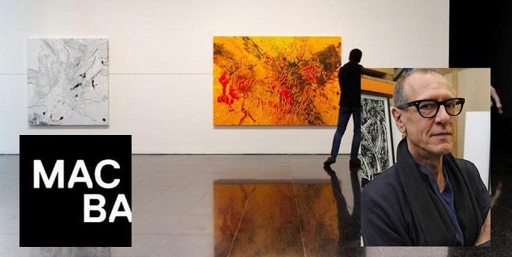 """GRAFCAT7083. BARCELONA, 11/04/2019.- El artista suizonorteamericano Christian Marclay, que reúne en una exposición en el MACBA la vertiente compositiva de su obra a través de su vinculación con la cultura popular y los medios de comunicación de masas, ha confesado que se siente """"identificado con la composición de Gaudí"""". EFE/Enric Fontcuberta"""