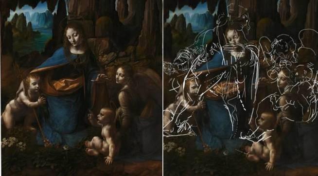 el-descubrimiento-en-la-virgen-de-las-rocas-the-national-gallery