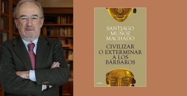 Madrid 29-11-2017 Entrevista al catedratico Santiago Munoz Machado  Imagen Juan manuel Prats